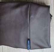 Dog's Companion Extra cover chocolate brown leather look Small