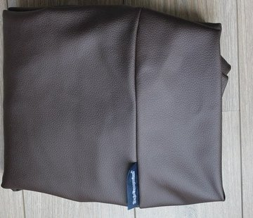 Dog's Companion Hoes hondenbed chocolade bruin leather look Small