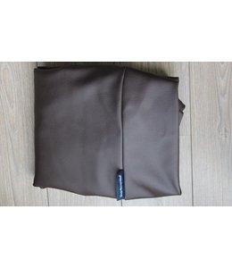 Dog's Companion Bezug schokolade braun leather look Medium