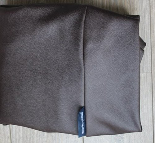 Dog's Companion Extra cover chocolate brown leather look Medium