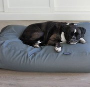 Dog's Companion Hundebett mausgrau leather look
