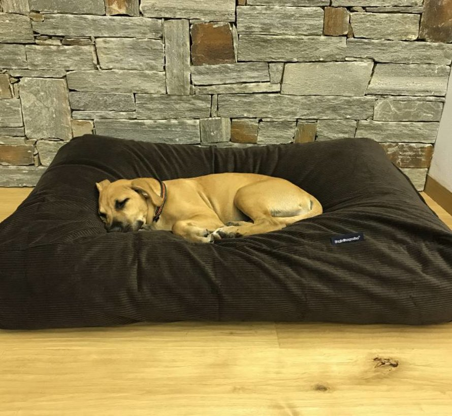 Dog bed Chocolate Brown (Corduroy) Small