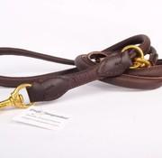 Verstellbare Hundeleine Leder (etwa 220 cm)