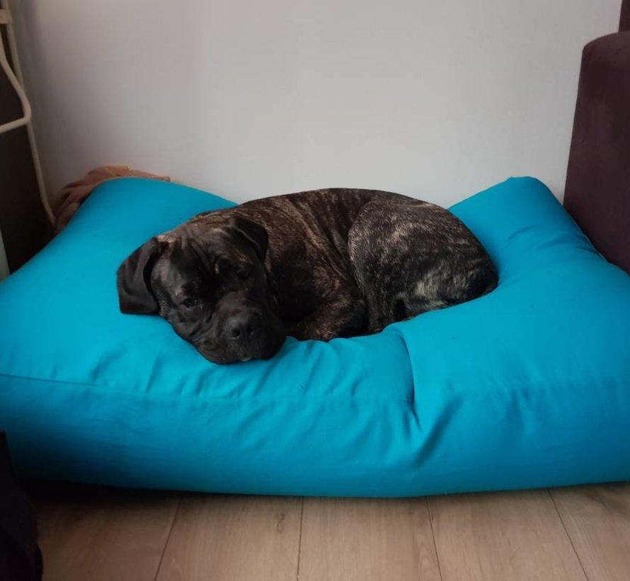 Hundebett Aqua Blau Medium