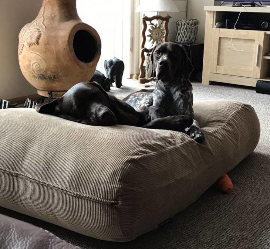 Lit pour chien Chameau (corduroy) Large