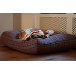 Lit pour chiens Textile Tissé (carreaux / rayé)