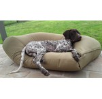 Beige dog beds