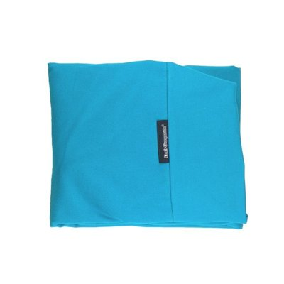 Blue dog bed covers