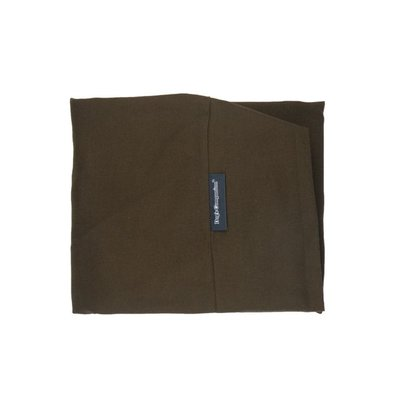 Brown dog bed covers