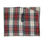 Dog bed covers tartan