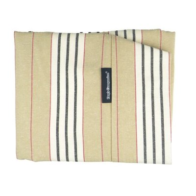 Dog bed covers stripe