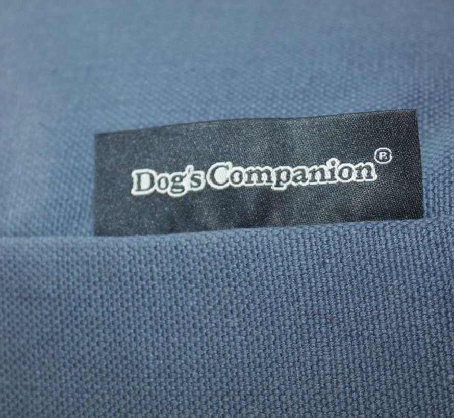 Dog bed raf blue upholstery Small