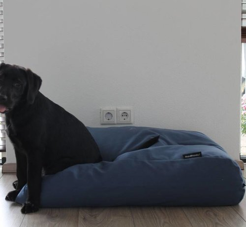 Dog's Companion Dog bed raf blue upholstery Extra Small