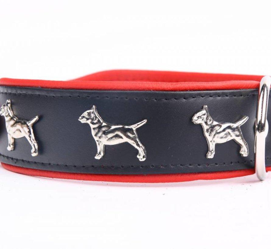 Collier en cuir Bull Terrier