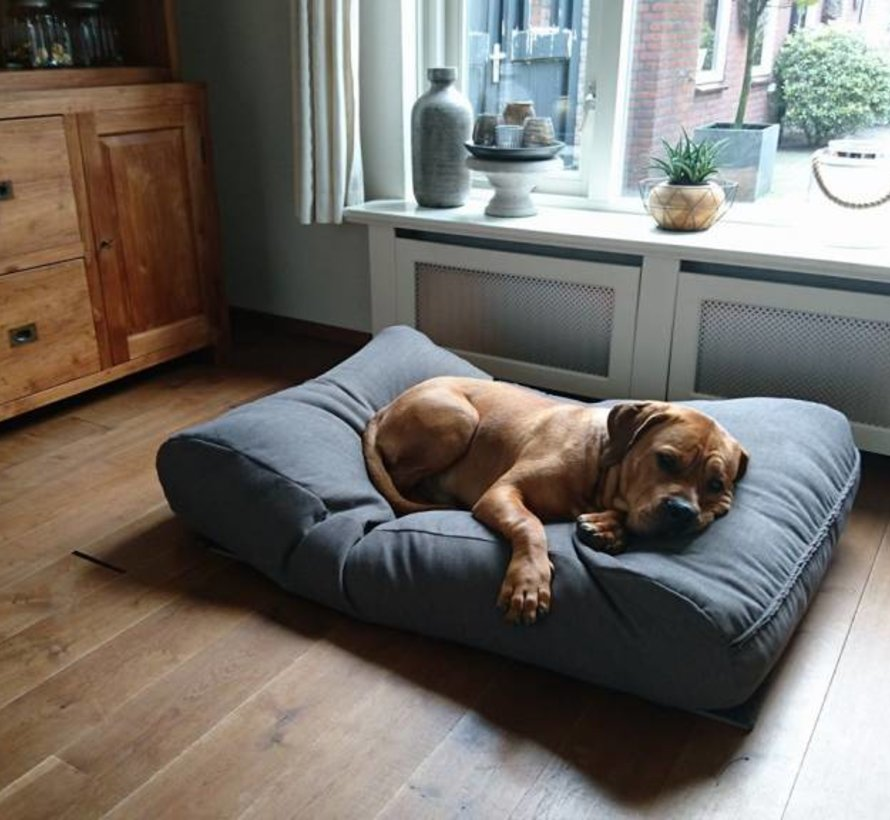 Lit pour chien Extra Small Taupe (tapisserie)