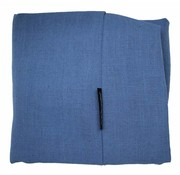 Dog's Companion Extra cover Manhattan Blue linen Large