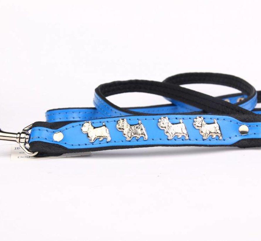 Hundeleine Leder West Highland Terrier