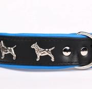 Leather dog collar Bull Terrier