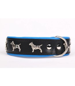 Leather dog collar Bull Terrier