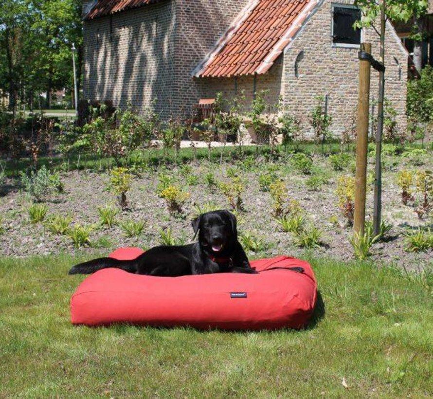 Lit pour chien Rouge Brique Superlarge