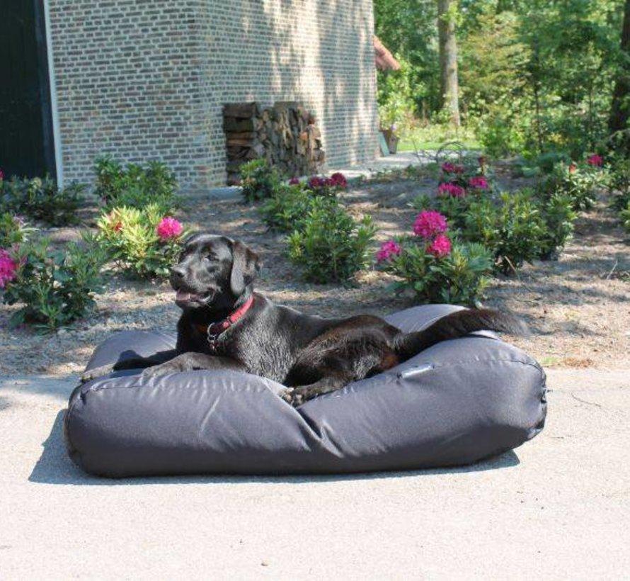 Lit pour chien Noir coating