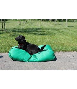 Dog's Companion Dog bed spring green (coating) Medium