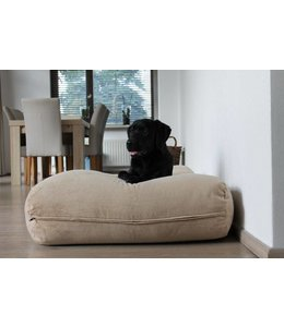 Dog's Companion Dog bed Beige (Corduroy) Extra Small
