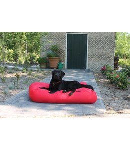 Dog's Companion Hondenbed rood vuilafstotende coating medium