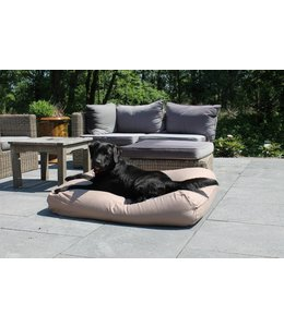 Dog's Companion Dog bed walnut upholstery Large
