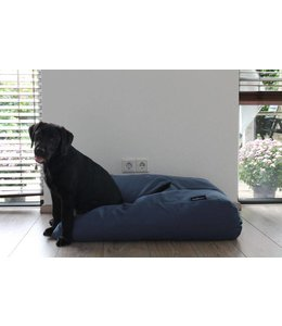 Dog's Companion Dog bed raf blue upholstery