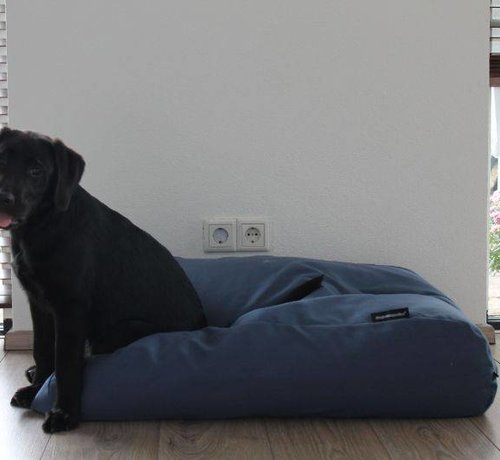 Dog's Companion Dog bed raf blue upholstery Small