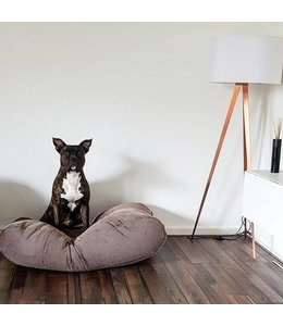 Dog's Companion Dog bed Brown-Beige Duo (Corduroy) Small