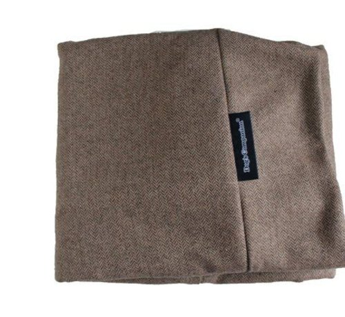 Dog's Companion Extra cover Small Tweed light brown