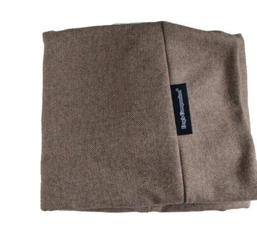 Housse supplémentaire Small Tweed marron clair