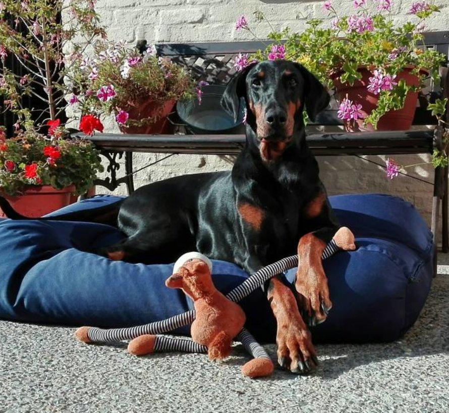 Hondenbed Donkerblauw vuilafstotende coating Small