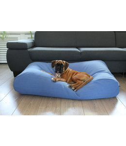 Dog's Companion Hondenbed Manhattan blue linnen