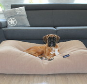 Dog's Companion Dog bed Caramel (chenille velours) Extra Small