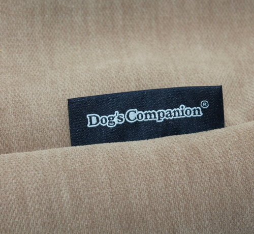 Dog's Companion Extra cover Caramel (chenille velours) Small