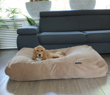 Dog's Companion Dog bed Camel (Corduroy)