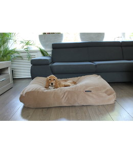 Dog's Companion Hondenbed Camel Ribcord Small
