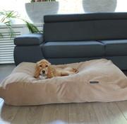 Dog's Companion Hondenbed Camel Ribcord Medium