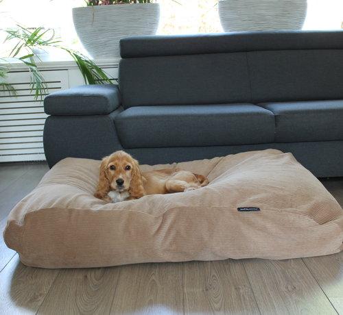 Dog's Companion Dog bed Camel (Corduroy) Medium