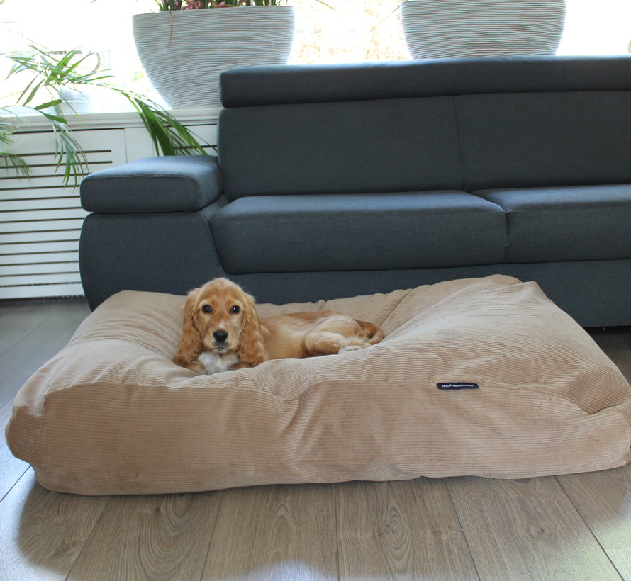 Dog bed Camel (Corduroy) Superlarge