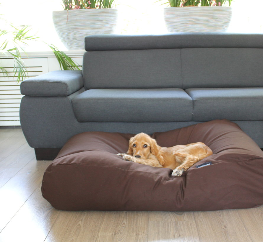 Dog bed Chocolate Brown Large