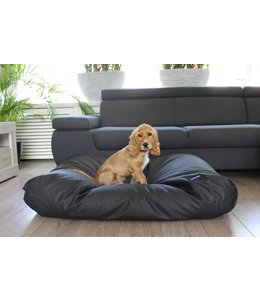 Dog's Companion Hondenbed zwart leather look Superlarge