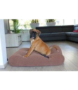 Dog's Companion Hondenbed Mokka (chenille velours) Small