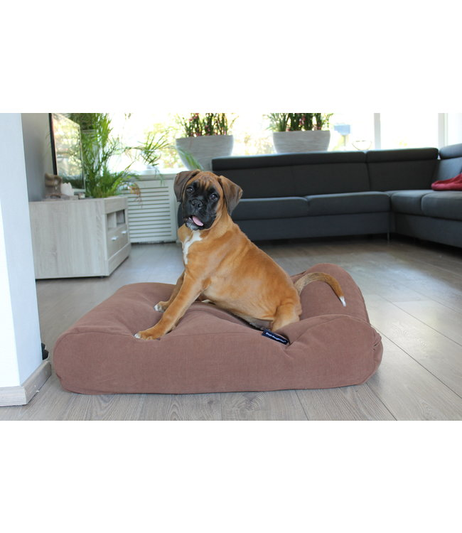 Dog's Companion Dog bed Mocha (chenille velours) Small