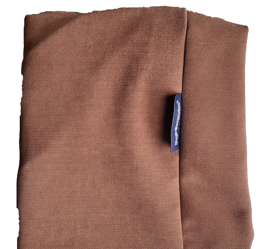 Extra cover Mocha (chenille velours) Small