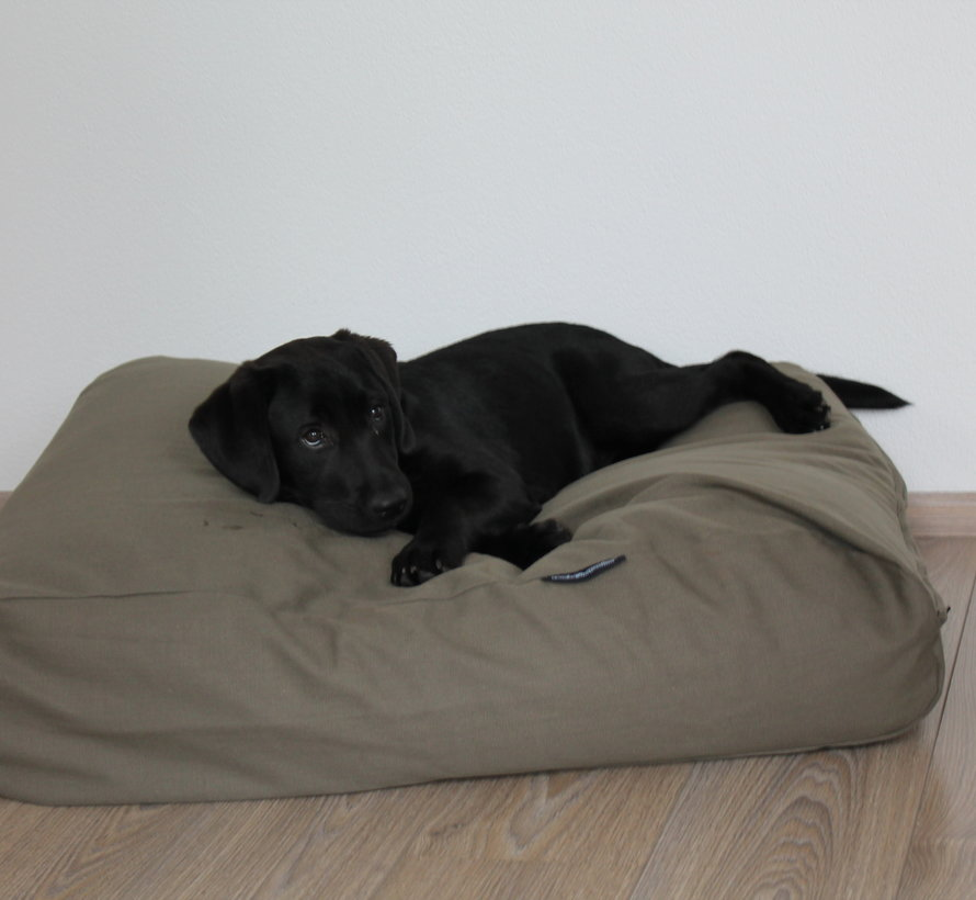 Dog bed cover basalt upholstery Small