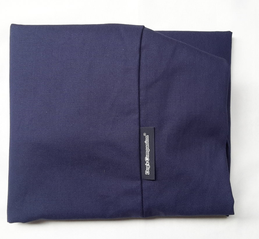 Extra cover bed dark blue Small